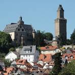 Die Mittelburg der Burg Kronberg mit stattlichen Wohnhäusern. Foto: wita/Fromme
