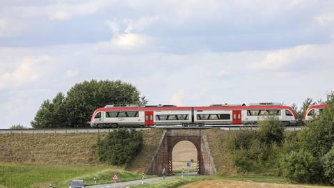 Die Odenwaldbahn fährt seit dem Jahr 1882 durch Südosthessen. Foto: Guido Schiek