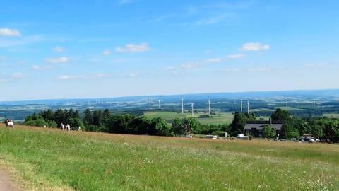Die Herchenhainer Höhe mit ihren beeindruckenden Aussichten ist ein beliebtes Ausflugsziel. Foto: Eigner
