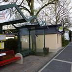 Barrierefrei soll auch die Bushaltestelle an der Fürfelder Eichelberghalle werden. Foto: Wolfgang Bartels