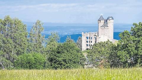 Blick auf die Ruine der namensgebende Burg: Das kommunalpolitische Zusammenleben in Greifenstein war seit der Gebietsreform nicht immer leicht. Archivfoto: Katrin Weber