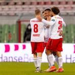 Der SVWW triumphierte gegen Lübeck. Der VfB rutscht damit weiter in Richtung Abstieg.  Foto: Felix König