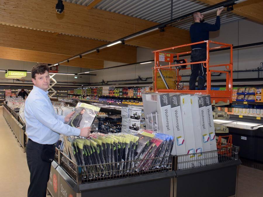 Am Donnerstag 7 Dezember Eröffnet Aldi Modernen Markt Der