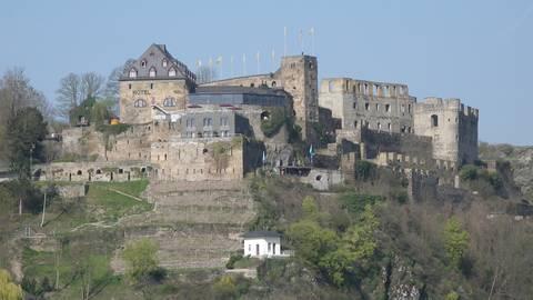 Blick auf die Burg Rheinfels. Foto: Burg Rheinfels