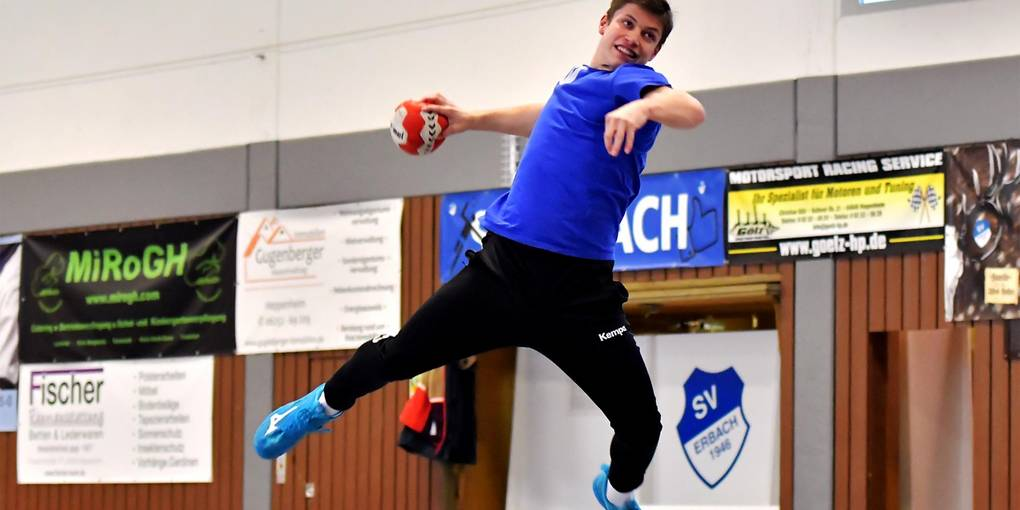 Zielstrebig und talentiert: Manuel Hörr vom SV Erbach. Foto: Dagmar Jährling