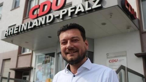 Jan Zimmer ist politischer Geschäftsführer der CDU Rheinland-Pfalz. Foto: Lisa Bolz