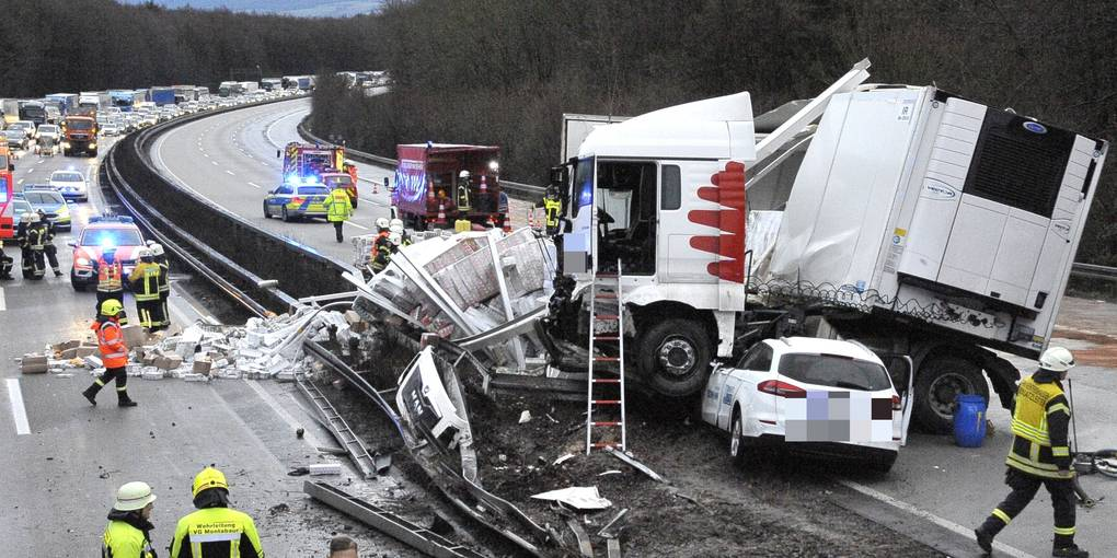 Limburg Lkw Unfall