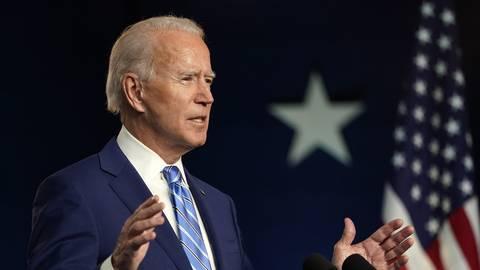 "Der ""President elect"" Joe Biden. Foto: Carolyn Kaster/AP/dpa"