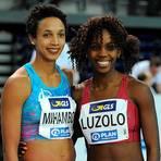 Maryse Luzolo vom Königsteiner LV (rechts) tritt am Wochenende gegen Weitsprung-Weltmeisterin Malaika Mihambo (links) an. Archivfoto: kie