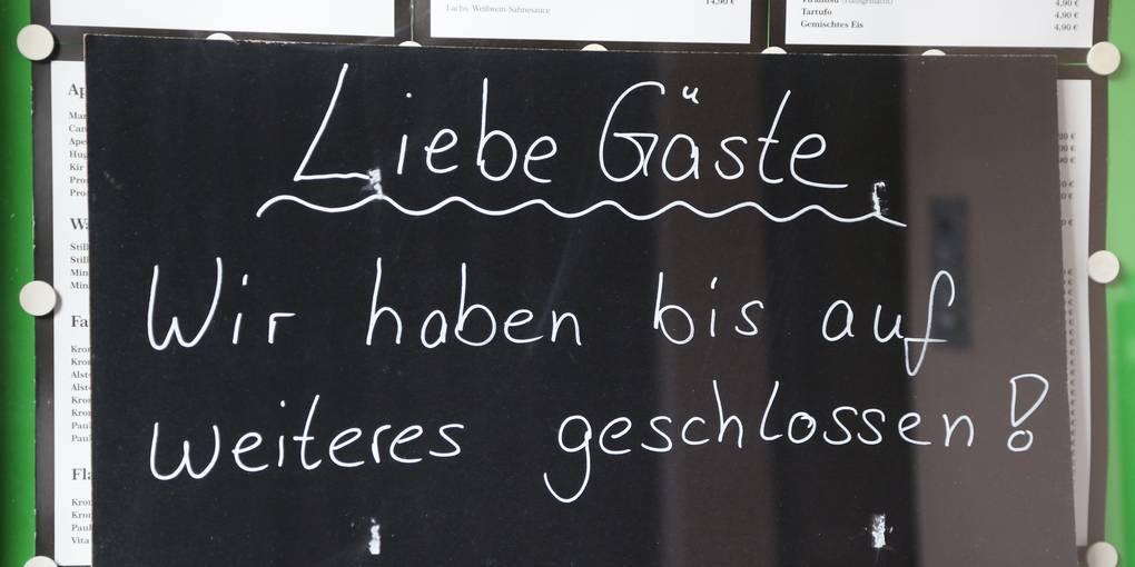 Corona Gastronomie Hessen