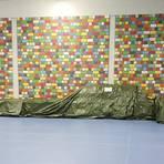 Die Judo-Matten bleiben in der kleinen Halle der Turngemeinde Hochheim erstmal abgebaut. Dafür haben sich die Trainer ein Judo-Alternativprogramm für Zuhause überlegt. Foto: Verena Schattner
