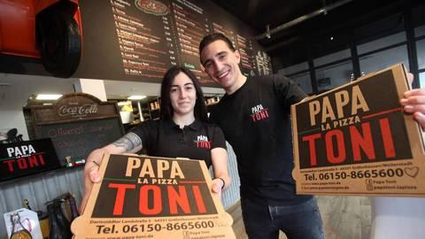 Im Sommer 2020 hat Vincenzo Basile sein Restaurant Papa Toni in Gräfenhausen eröffnet. Foto: Karl-Heinz Bärtl