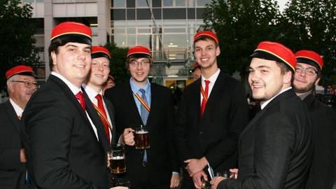 Studentenverbindungen Gibt Es In Bingen Seit 1898 Sie