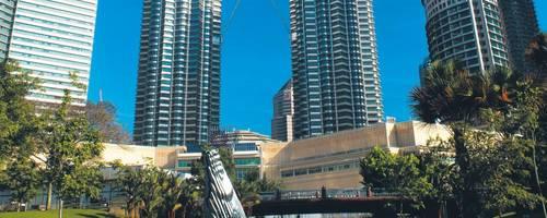 Die Petronas Towers sind das Wahrzeichen Kuala Lumpurs. Foto: Tourism Malaysia