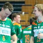 Geben auch in Hannover sicher ihr letztes Hemd für die HSG: Philip Henningsson (l.) und Magnus Frederiksen. Foto: Florian Gümbel