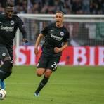 Hier noch im Eintracht-Dress: Danny da Costa und Dominik Kohr laufen derzeit auf Leihbasis für den FSV Mainz 05 auf. Foto: Joaquim Ferreira