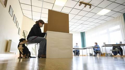 Mittelhessen hat gewählt.   Foto: dpa