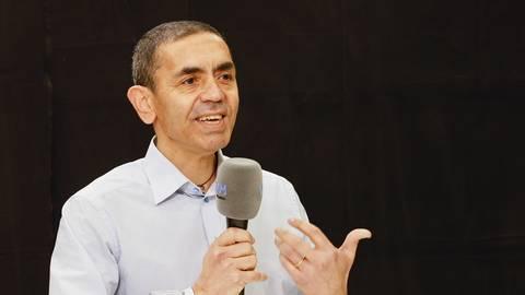 Der Vorstandsvorsitzende von Biontech, Prof. Dr. Ugur Sahin.    Foto: Sascha Kopp