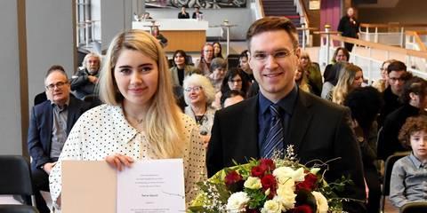 Russelsheim Rania Daoudi Erhalt Forderstipendium