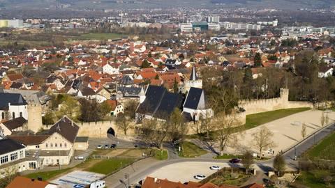 Heimat von oben in unserem Rundflug über Ingelheim, Bingen und Gau-Algesheim. Foto:Simon Rauh