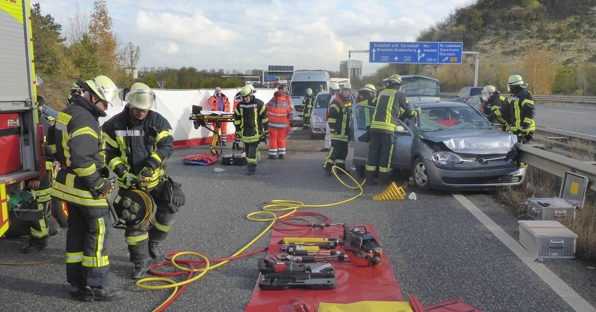 Unfall A60 Mainz Heute