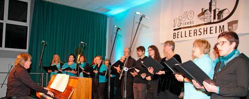 """Der Gastgeber """"A-Chor-Do"""" organisiert das Neujahrskonzert als Auftakt der 1250-Jahrfeier in Bellersheim. Foto: Schäfer"""