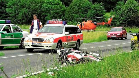 Auf der Bundesstraße 276 zwischen Laubach und Schotten gibt es immer wieder schwere Unfälle.  Archivfoto: GA