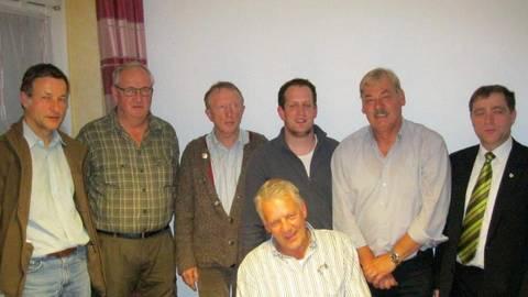 Der neue Vorstand der Grebenauer Hegegemeinschaft.  Foto: Eifert  Foto: Eifert