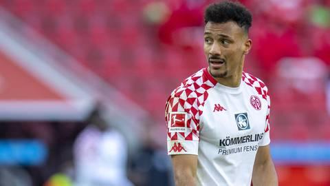 Mainz 05-Stürmer Karim Onisiwo steht nach seiner Verletzungspause vor dem Comeback. Ob er auch zur Nationalmannschaft reisen wird, ist allerdings noch unklar. Foto: imago