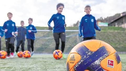 Training in Fünfer-Gruppen ist für Kids bis 13 Jahren erlaubt. Foto: Ferreira/Archiv