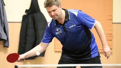 Uwe Schweitzer vom TuS Kirschhofen findet die Entscheidung zur Unterbrechung der Runde absolut richtig. Foto: Harald Höhnel