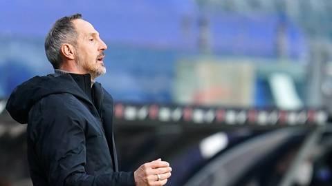 Adi Hütter, der bis zum Saisonende Trainer von Eintracht Frankfurt ist. Archivfoto: dpa