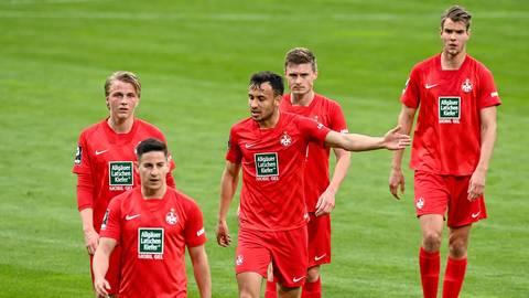 Kollektive Enttäuschung: Der FCK offenbart bei 1860 München einen gefühlten Klassenunterschied.  Foto: imago/foto2press