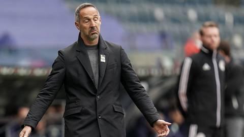 Eintracht Trainer Adi Hütter Foto: dpa/Thomas Frey