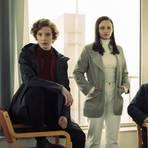 Selb (Luise Wolfram, v.l.), Moormann (Jasna Fritzi Bauer) und Andersen (Dar Salim) sind die Neuen in Bremen. Foto: Radio Bremen/Christine Schroeder