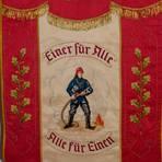 """Die in Eibenstock instandgesetzte Vereinsfahne der Freiwilligen Feuerwehr erstrahlt in neuem Glanz und ist ein """"Hingucker"""" geworden. Foto: Klaus Waldschmidt"""