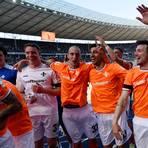 Der Sieg gegen Hertha BSC, den die Lilien 2016 in Berlin feierten, bedeutete auch den Klassenerhalt in der ersten Liga. Foto: Florian Ulrich