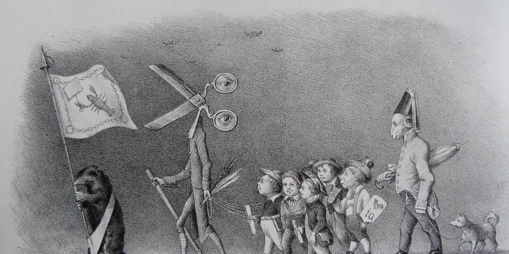 Karlsbader Beschlüsse Karikatur