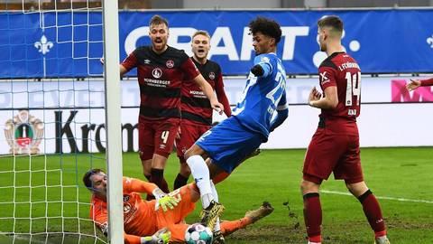 Die Lilien und der 1. FC Nürnberg trennten sich mit 1:2. Ein schlechtes Ergebnis für den Abstiegskampf des SV Darmstadt 98. Foto: Florian Ulrich