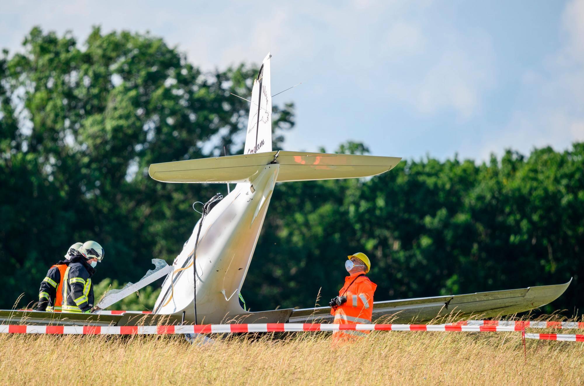 Akribische Puzzlearbeit Nach Flugzeugabsturz In Giessen Lutzellinden