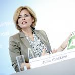 Die Bundesministerin für Ernährung und Landwirtschaft, Julia Klöckner (CDU). Foto: dpa
