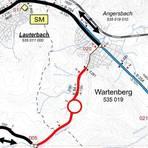 Die Umleitung führt in beiden Richtungen über Lauterbach. Foto: HessenMobil