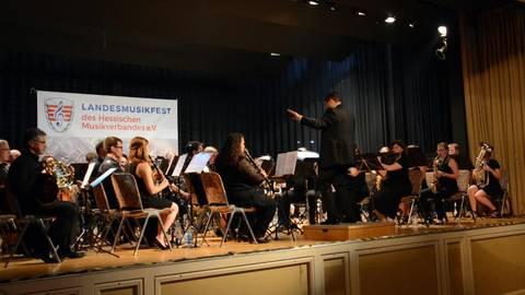 Projektorchester Des Hessischen Musikverbandes Feiert Im Bad