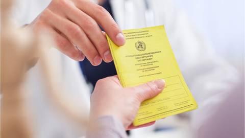 Besser, man passt gut auf ihn auf: Der Impfausweis ist ein wichtiges Dokument. Foto: Christin Klose/dpa-tmn