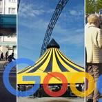 """Busse fahren nicht, dafür gibt es Action im Zirkus """"Flic Flac"""" und Trödel auf dem Flohmarkt. In Gießen war 2019 einiges los. Fotos: Katrina Friese, Ines Jachmann, Klaus-Dieter Jung"""