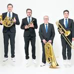The Canadian Brass kommen mit dem Knabenchor Hannover nach Nieder-Moos. Foto: Brandon