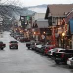 In Leavenworth werden viele Feste gefeiert: Ein Höhepunkt ist das Lichterfest im Winter.Foto: Armin Möller  Foto: Armin Möller