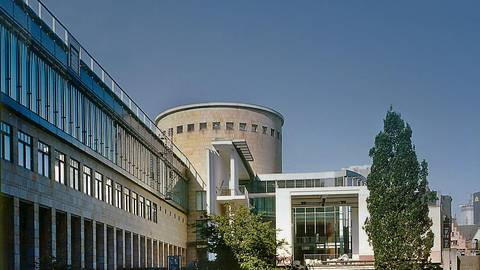 Die Schirn Kunsthalle in Frankfurt ist abdiesem Donnerstagwieder für Besuchergeöffnet. Foto: Schirn