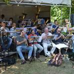 Der Evangelische Posaunenchor Altenburg spielte. Foto: Linda Buchhammer