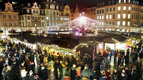 In Mainz wird es 2020 wegen der Corona-Pandemie keinen Weihnachtsmarkt geben. Archivfoto: Sascha Kopp